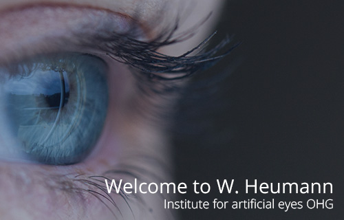 W. Heumann Institute for Artificial Eyes oHG - Welcome